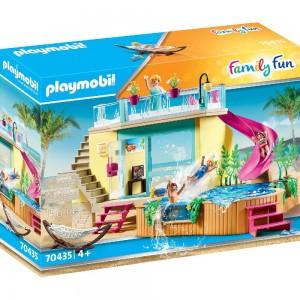 Bungalow mit Pool Playmobil 70435