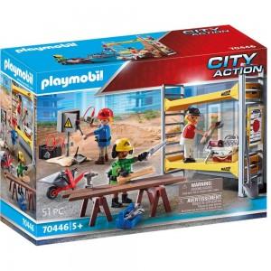 Baugerüst mit Handwerkern Playmobil 70446