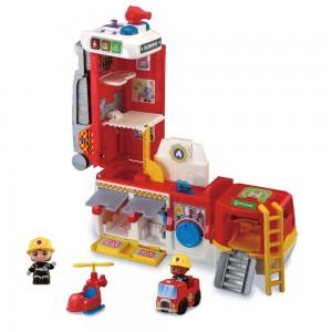 2-in-1-Feuerwehrstation