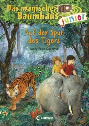 Das magische Baumhaus junior 17 - Auf der Spur des Tigers