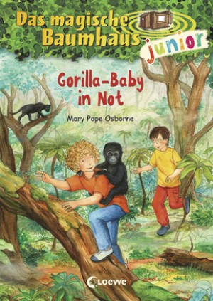 Das magische Baumhaus junior 24 - Gorilla-Baby in Not