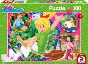 Hex-Hex, Puzzle 100 Teile Bibi Blocksberg