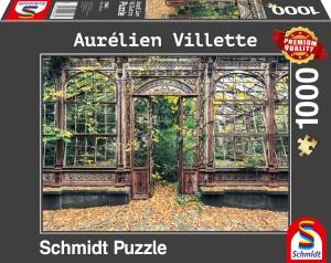 Bewachsene Bogenfenster Puzzle 1000 Teile