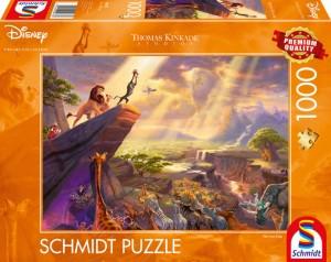 Disney, König der Löwen Puzzle 1000 Teile Thomas Kinkade
