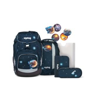 ergobag pack Schulrucksack-Set KoBärnikus Glow