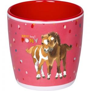Melamin Tasse Mein kleiner Ponyhof