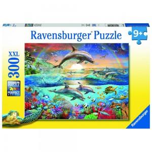 Delfinparadies Puzzle 300 Teile XXL
