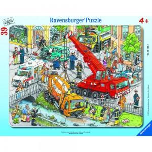Rettungseinsatz 30-48 Teile Rahmenpuzzle