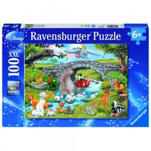 DAF: Die Familie der Animal Friends Puzzle 100 Teile XXL