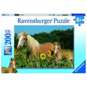 Pferdeglück Puzzle 200 Teile XXL
