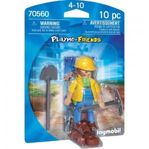 Bauarbeiter Playmobil 70560