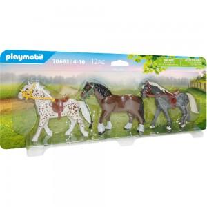 3 Pferde Playmobil 70683