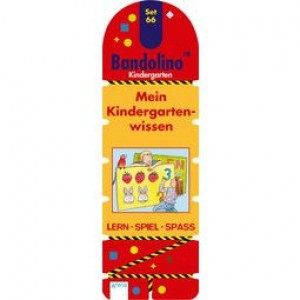 Bandolino Set 66 Mein Kindergartenwissen
