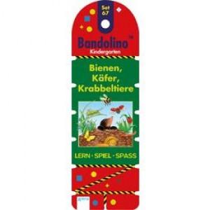 Bandolino Set 67 Bienen, Käfer, Krabbeltiere
