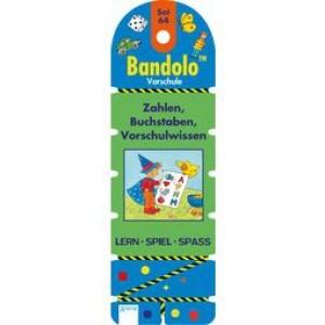 Bandolo Set 64 Zahlen, Buchstaben, Vorschulwissen