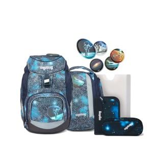 ergobag pack Schulrucksack-Set Bär Anhalter durch die Galaxis