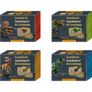 Mini-Ausgrabungsset Dinosaurier-Figur T-Rex World