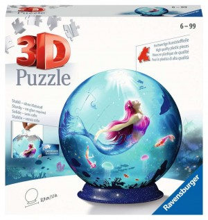 Puzzle-Ball 72 Teile Bezaubernde Meerjungfrauen
