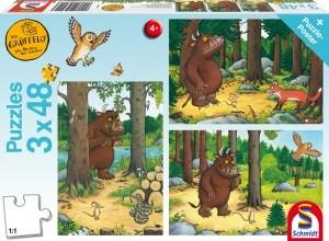 Wer hat Angst vorm Grüffelo?, Puzzle 3x48 Teile