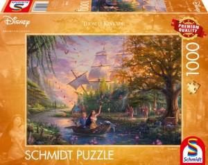 Disney, Pocahontas Puzzle 1000 Teile Thomas Kinkade