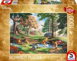 Disney, Winnie The Pooh Puzzle 1000 Teile Thomas Kinkade