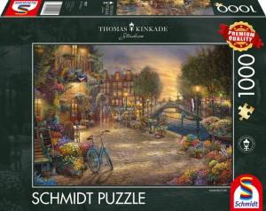 Amsterdam Puzzle 1000 Teile Thomas Kinkade