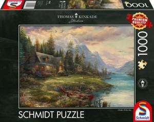 Ausflug am Vatertag Puzzle 1000 Teile Thomas Kinkade