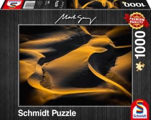Feldzeichnung Puzzle 1000 Teile Mark Gray