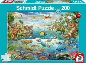Entdecke die Dinosaurier Puzzle 200 Teile