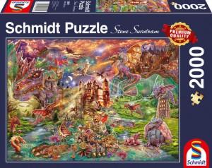 Der Schatz der Drachen Puzzle 2000 Teile