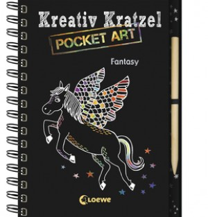Kreativ-Kratzel Pocket Art: Fantasy