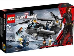 Black Widows Hubschrauber-Verfolgungsjagd Lego 76162