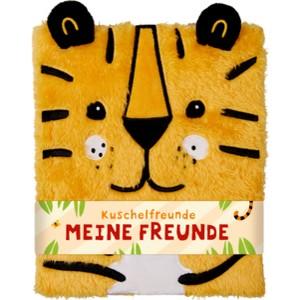 Freundebuch: Kuschelfreunde - Meine Freunde (Tiger)