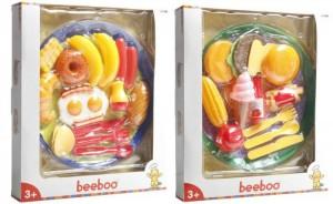 Beeboo Kitchen Schlemmer-Set mit Teller, 2-fach sortiert