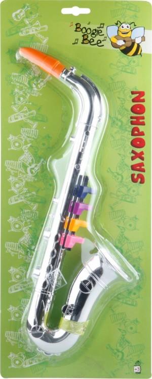 Boogie Bee Saxophon silber, 36 cm