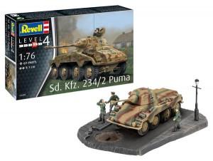 Revell Bausatz Sd.Kfz. 234/2 Puma