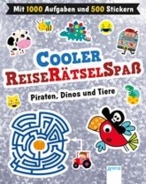 Cooler Reiserätselspaß. Piraten, Dinos und Tiere