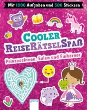 Cooler Reiserätselspaß. Prinzessinnen, Eulen und Einhörner