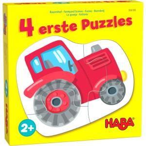 4 erste Puzzles – Bauernhof HABA
