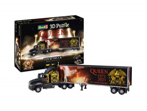 3D Puzzle QUEEN Tour Truck - 50th Anniversary