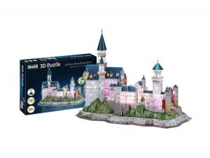 3D Puzzle Schloss Neuschwanstein-LED Edition