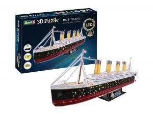 3D Puzzle RMS Titanic - LED Edition