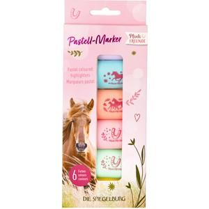 Pastell-Marker (6er Set) Pferdefreunde