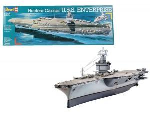 Revell Bausatz 1:720 Nuclear Carrier U.S.S. Enterprise
