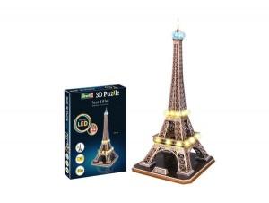 Eiffelturm - LED Edition 3D Puzzle
