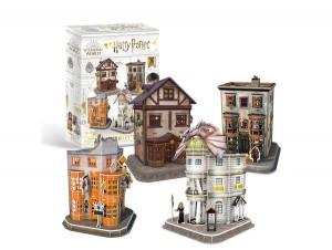Harry Potter Diagon Alley Set 3D Puzzle