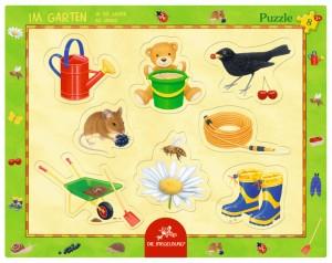 Rahmenpuzzle Im Garten (8 Teile)