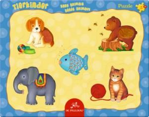 Fühlpuzzle Tierkinder (5 Teile)