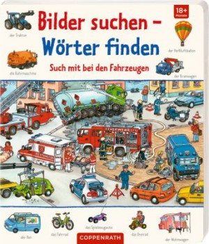 Bilder suchen-Wörter finden: Such mit bei den Fahrzeugen