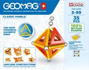 GEOMAG© Classic Panels Green Line 35teilig 470